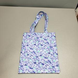 5/$25 Purple flower mini tote bag